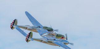 Een p-38 toestel uit het verloren eskader