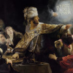 Belshazzar's feast, by Rembrandt