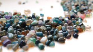 Collectie van mineralen