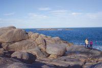Granieten kuststrook