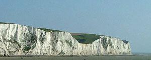 De White cliffs van Dover