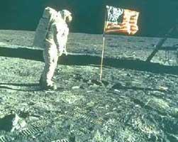 De Apollo maan landing